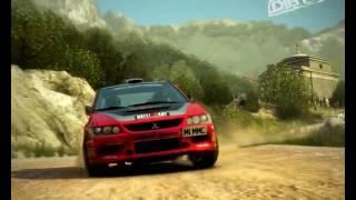 Colin McRae DiRT2 ...gameplay... Lancer Evo IX