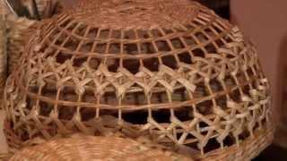 Плетёный абажур своими руками. Автор Елена Тищенко.