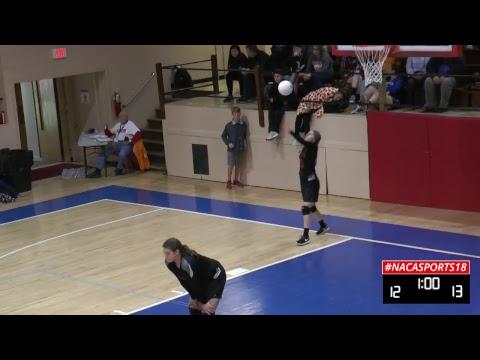 2018 NACA VB - Christian Academy (IN) vs Rhea County Academy (TN)
