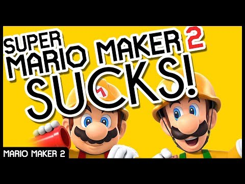 THIS GAME IS BROKEN! (In Hilarious Ways) // Crazy Mario Maker 2 Glitch Levels