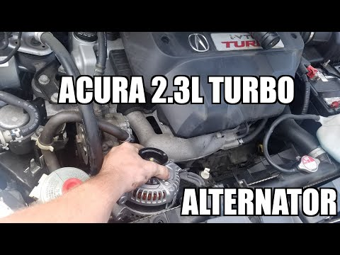 "Acura RDX Alternator Replacement ""How to"""