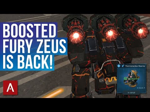 Fury Zeus Deadlier Than Ever With Thermonuclear Reactor + MAX Boosters / War Robots | WR