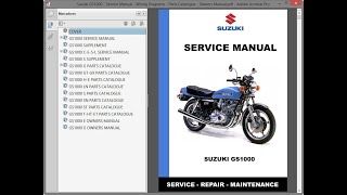 Suzuki GS1000 - Service Manual - Wiring Diagrams - Parts Catalogue - Owners  Manual - YouTube | Gs1000 Wiring Diagram |  | YouTube
