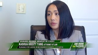 SUAB HMONG TALKSHOW:  Exclusive with Kasoua Kristy Yang, running for Judge in Milwaukee, WI