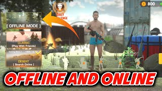 PVP Shooter offline and online game for low ram device