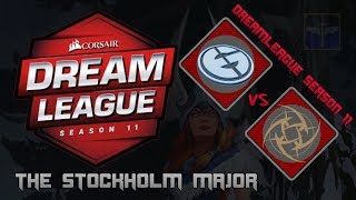 Evil Geniuses vs NIP / Virtus.Pro vs Chaos / DreamLeague Season 11 Stockholm Major  / Dota 2 Live