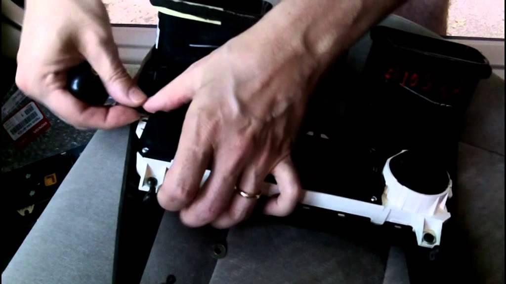 2000 honda accord manual climate control unit