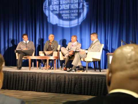 Black Enterprise -Education Through Technology Panel With The Gates Foundation - 1