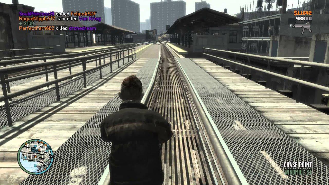 GTA IV - Bohan Train Station Keeper - YouTube