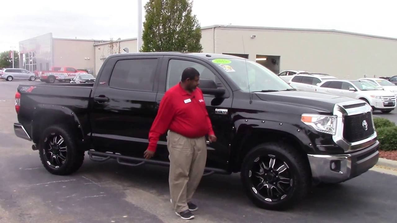 2015 toyota tundra wilson nc walk around youtube. Black Bedroom Furniture Sets. Home Design Ideas