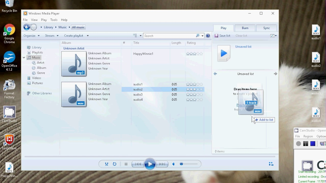 where is the rip cd button in windows media player 12