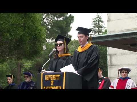 Jess Hemerly & Thomas Schluchter, Commencement 201...