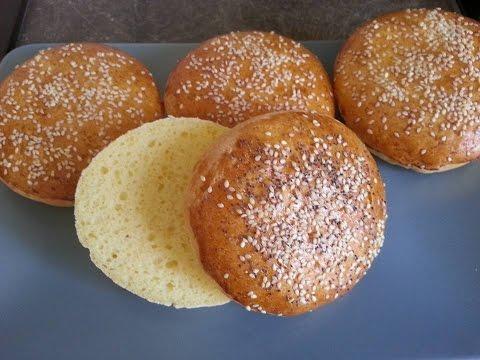 Pains hamburger sans gluten/Gluten free burger bread or buns