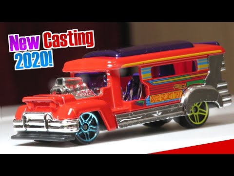 Hot Wheels Road Bandit (Red) (New casting 2020!)