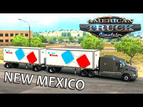American Truck Simulator: New Mexico DLC Timelapse Gameplay |