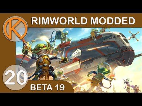 RimWorld Beta 19 Modded   EFFICIENT-ER FRIDGE - Ep. 20   Let's Play RimWorld Beta 19 Gameplay