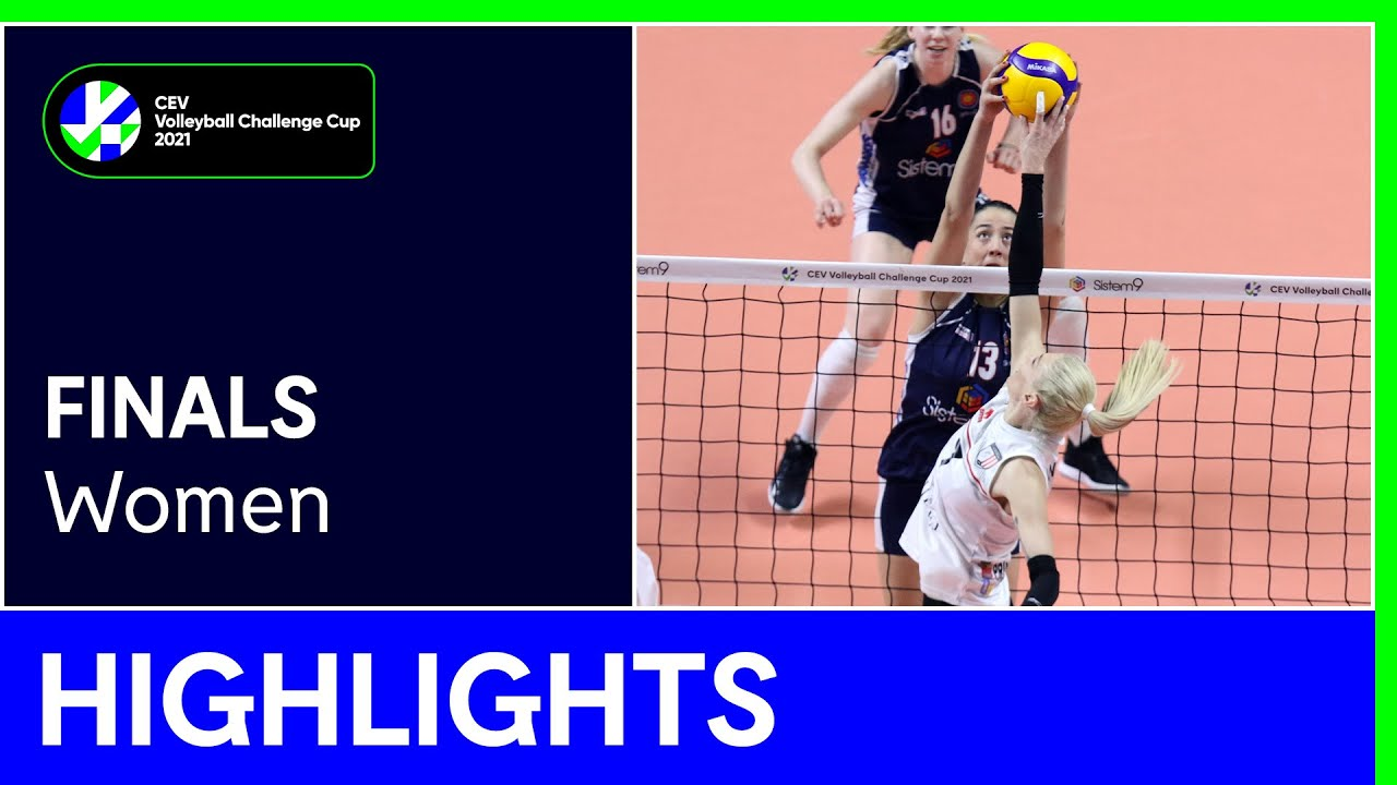 Sistem9 Yesilyurt ISTANBUL vs. C.S.M. Volei Alba BLAJ Highlights - #CEVChallengeCupW