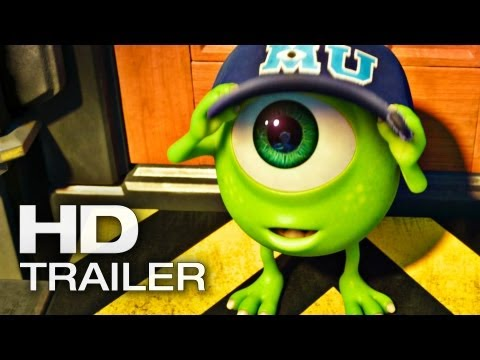 DIE MONSTER UNI Final Trailer 5 Deutsch German | 2013 Die Monster AG 2 [HD]