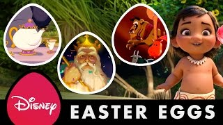 Disney Movie Easter Eggs | Disney Facts by Oh My Disney