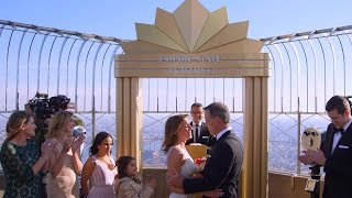 Watch Randy Officiate A Recommitment Ceremony Atop The Empire State Building