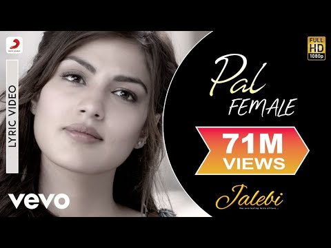 Pal - Female Version - Official Lyric Video|Shreya Ghoshal| Varun & Rhea|Javed – Mohsin