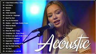 Guitar Acoustic Love Songs 2021 - Greatest Hits Ballad Acoustic Cover Of Popular Songs of All Time