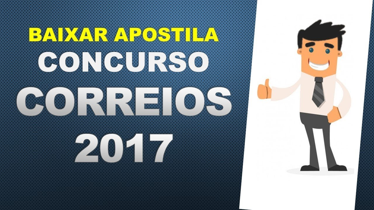 CONCURSO BAIXAR GRATIS DO 2011 APOSTILA CORREIOS DOS