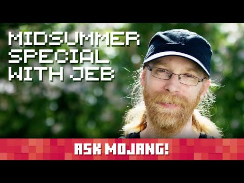 Ask Mojang midsummer special with Jeb