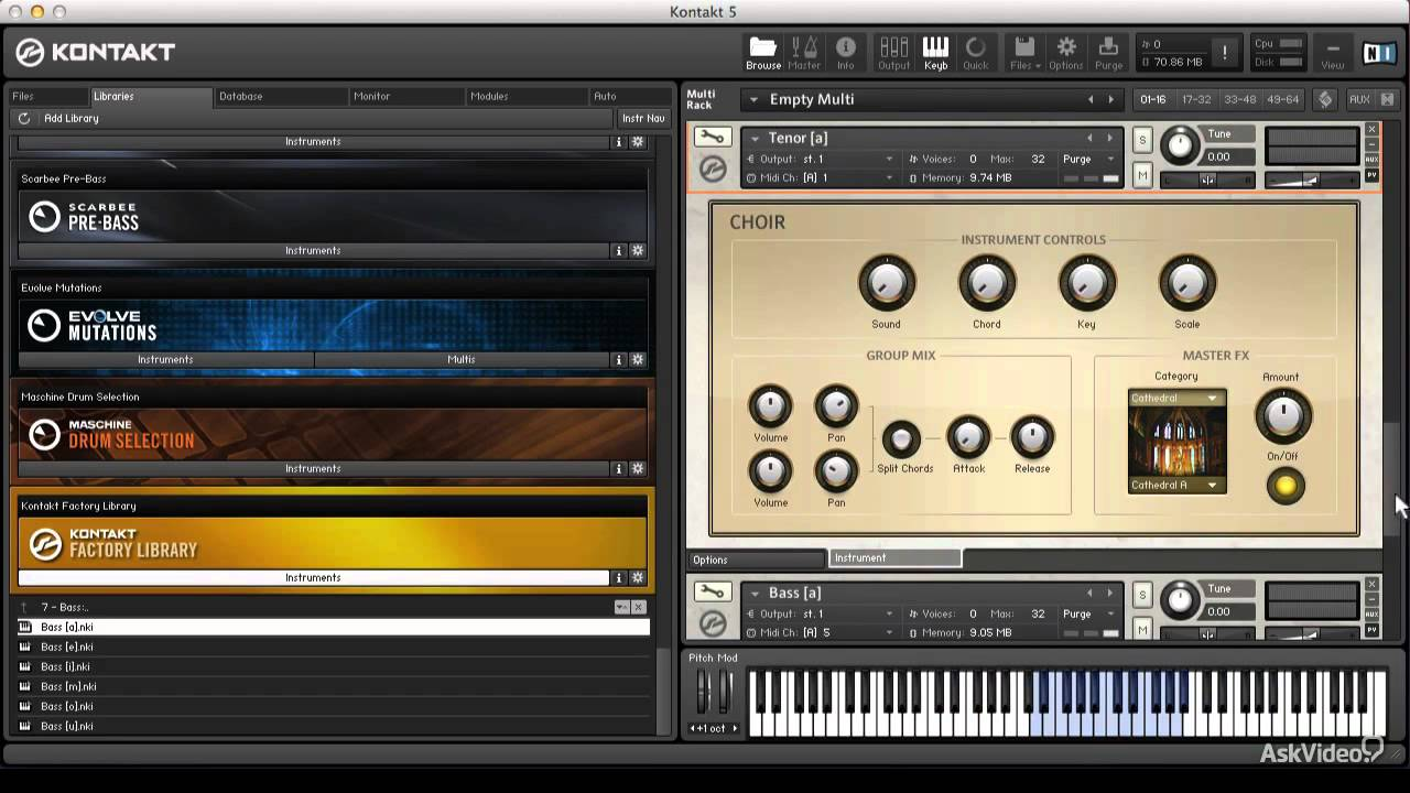 Kontakt 201: Advanced Kontakt 5 - 12  Building a Better Choir    with Choir