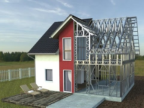 How to build a steel house youtube for How to build a metal house