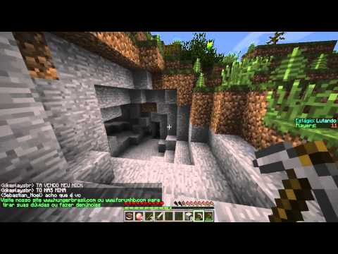 minecraft - django e hacker
