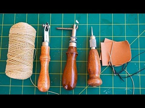 cómo-coser-cuero-a-mano