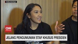 Dari Putri Tanjung Hingga CEO Ruang Guru Diisukan Menjadi Staf Khusus Presiden