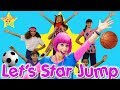 Let's Star Jump - Action Song for Kids! Songs for Kids By Debbie Doo