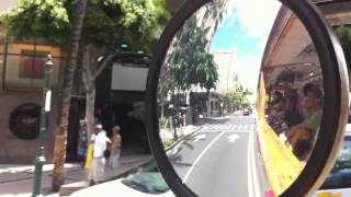 Waikiki Trolley (iMovie on iPhone 4)
