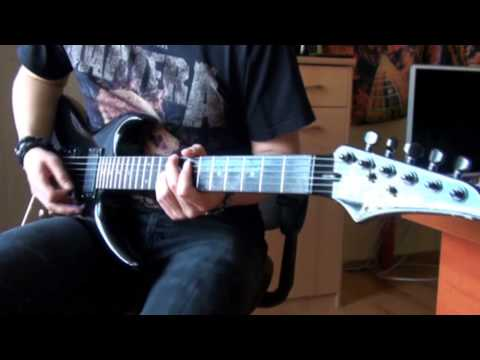 Twisted Sister - I Wanna Rock (Zima guitar cover)