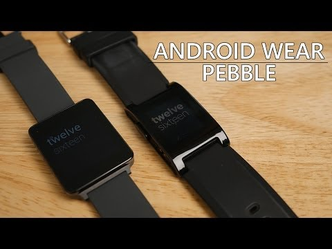 Android Wear vs Pebble: how do they compare?