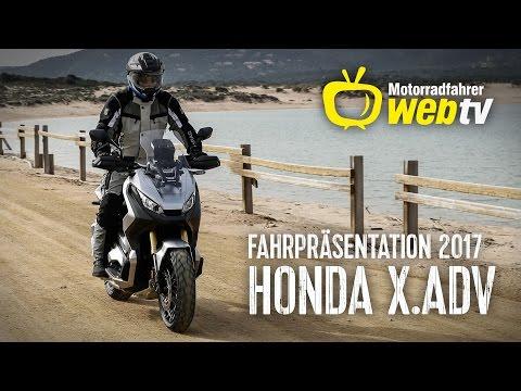 Fahrpräsentation 2017 - Honda X.ADV