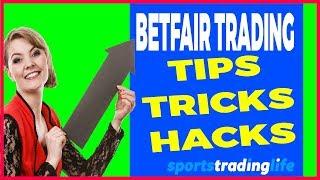 6  Hidden  Betfair Trading Tips, Tricks & Hacks Revealed!