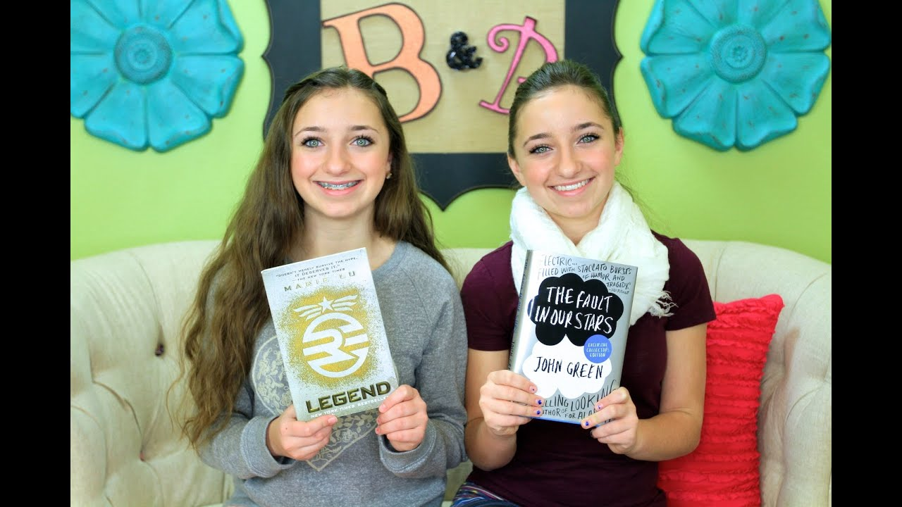 The Fault In Our Stars And Legend Book Reviews Youtube
