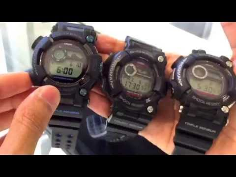 G-SHOCK FROGMAN GWF-1000 & GWF-D1000 | FIRST LOOK & COMPARISON