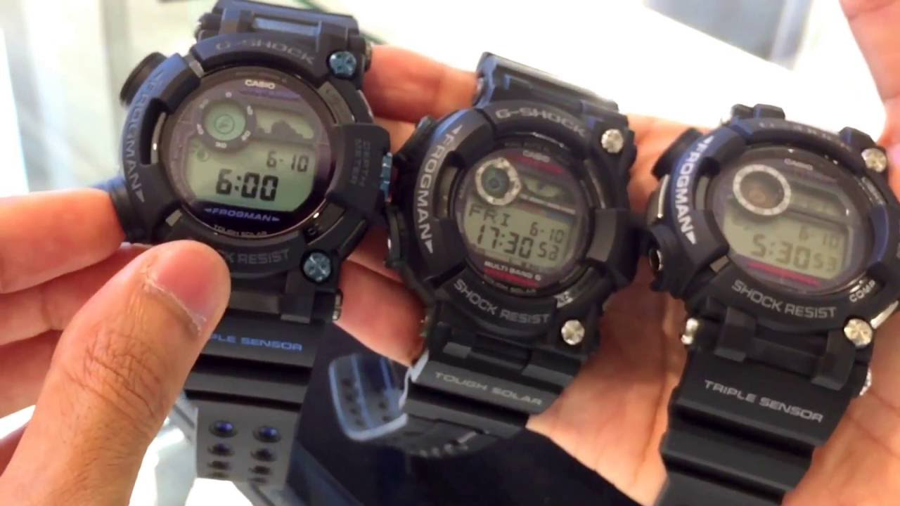 G SHOCK FROGMAN GWF 1000 & GWF D1000 | FIRST LOOK & COMPARISON