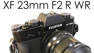 fujifilm xf 23mm f2 動画視点でのレビュー 近距離では