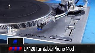Audio-Technica LP-120 Phono Bypass Mod