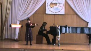 """И. Мохначева """"Вокализ"""" для скрипки и фортепиано"""