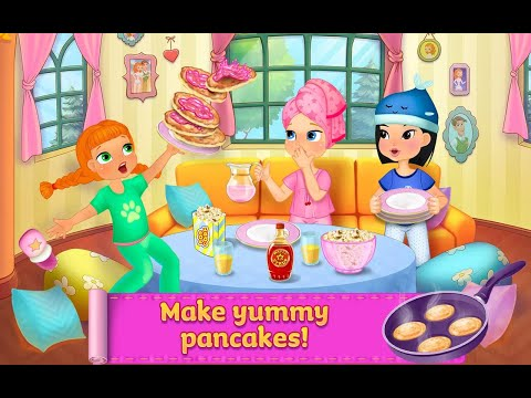 """PJ Party Crazy Pillow Pajamas Fight PART 2 """"TabTale Casual Pretend Play""""Android Gameplay Video"""