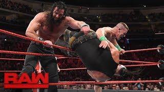 John Cena vs. Braun Strowman vs. Elias - Winner Enters Elimination Chamber Last: Raw, Feb. 5, 2018