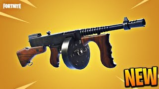 NEW 'DRUM GUN' SMG GAMEPLAY in Fortnite Battle Royale! How To Find The Drum Gun SMG! (FORTNITE SMG)