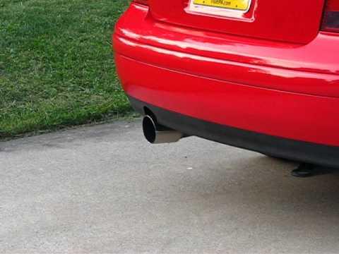 "2002 Jetta TDI Diesel with 3"" straight exhaust"