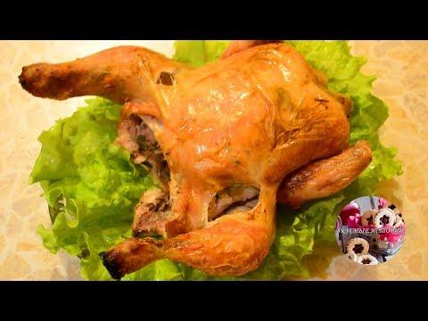 Курица в ажуре из картофеля - кулинарный рецепт